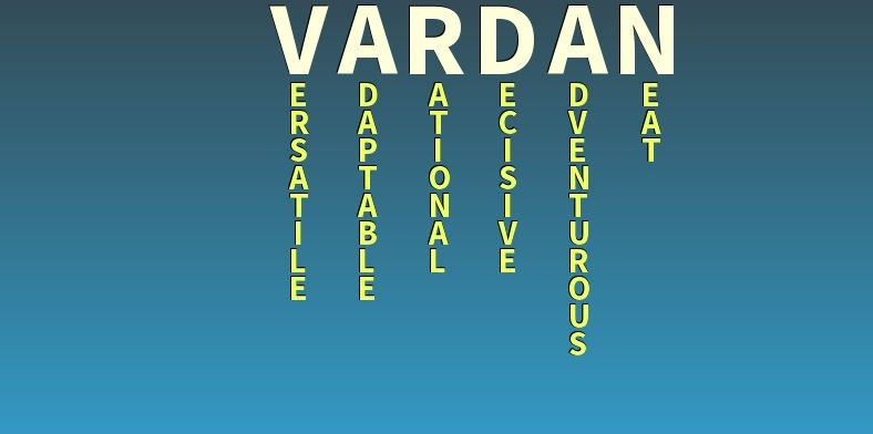 Значение имени Вардан