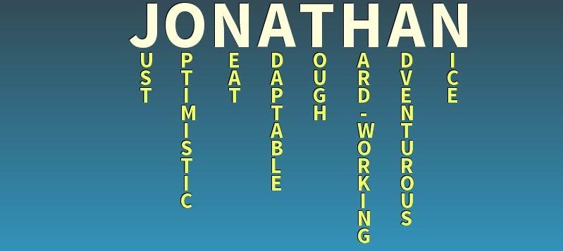 Значение имени Джонатан