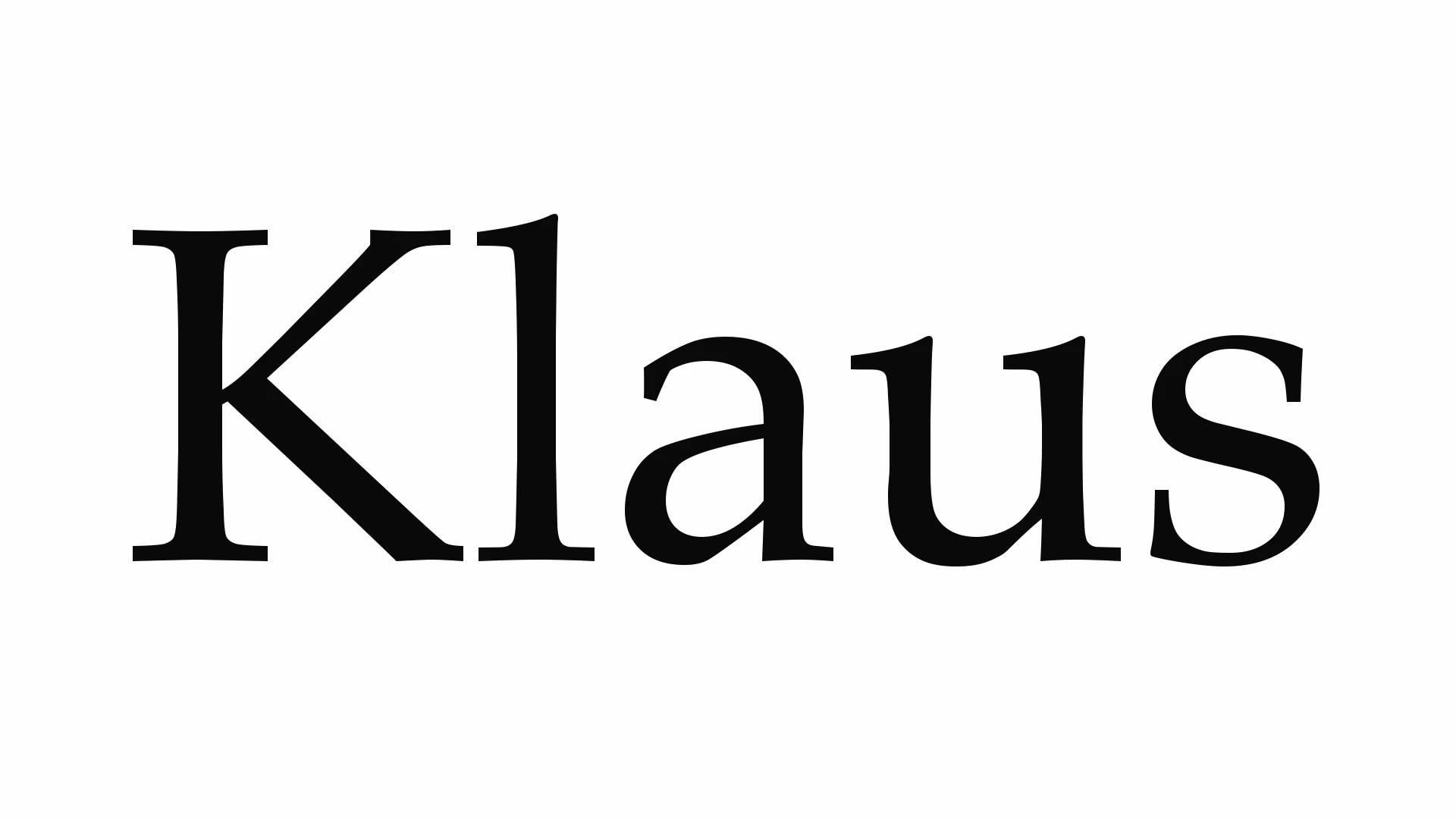 Значение имени Клаус
